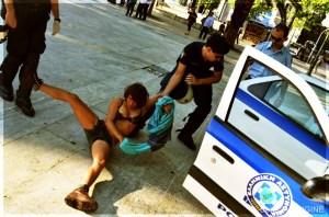 SYNTAGMA (ATHENES) - Arrestations du 15 Mai 2012 .Temoignage de Boris Aubligine