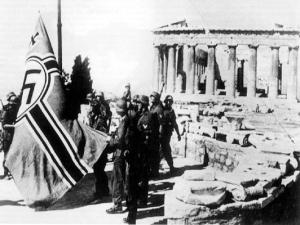 Μελιγαλάς : Τους ταγματασφαλήτες συνεργάτες των Γερμανών ναζί κατακτητών τιμά η χρυσή αυγή