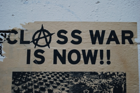Class_war_is_now!_Poster