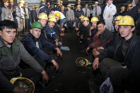 ανθρακωρύχοι τουρκία